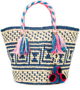 Yosuzi Manya tassel rope tote - women - Cotton/Straw - One Size