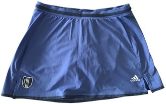 adidas Blue Synthetic Shorts