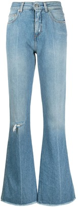 Golden Goose Distressed Flared Jeans
