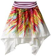 Junior Gaultier Skirt with Flowers Girl's Skirt