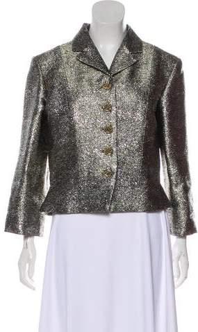 Chanel Metallic Cropped Jacket