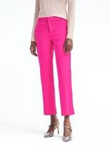 Banana Republic Avery-Fit Pop Pink Lightweight Wool Pant