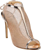 Monique Lhuillier Felicity Leather Sandal