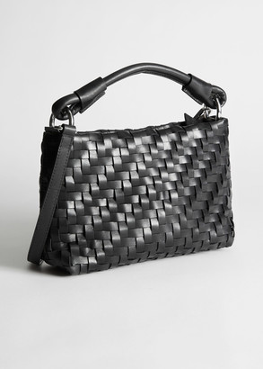 And other stories Weaved Crossbody Bag