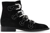 Givenchy 20MM STUDDED SUEDE ANKLE BOOTS