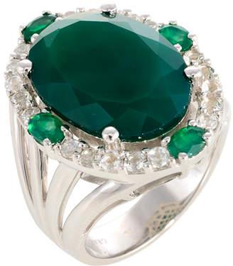 Graziela Gems Statement Silver 16.68 Ct. Tw. Gemstone Ring