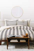 Deny Designs Holli Zollinger French Linen Seaside Stripe Duvet Cover Set