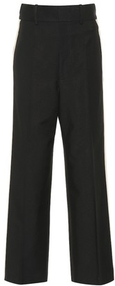 Helmut Lang High-waisted wide-leg pants