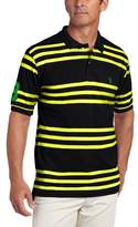 U.S. Polo Assn. Men's Yarn-Dyed Striped Polo Shirt