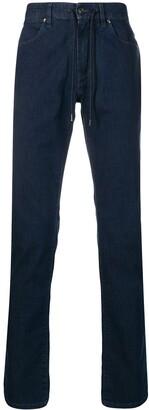 Ermenegildo Zegna Drawstring Straight-Leg Jeans