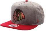 Zephyr Chicago Blackhawks Boulevard Snapback Cap