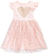 Epic Threads Glitter-Heart Tulle Dress, Little Girls (4-6X), Created for Macy's