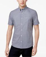 Michael Kors Men's Slim-Fit Short-Sleeve Cotton Oxford Shirt