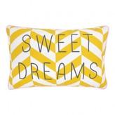 Rose in April Sweet Dreams Striped Cushion 30x20cm