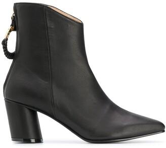 Reike Nen Block Heel Ankle Boots