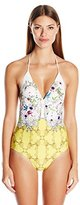 Ted Baker Women's Roulla Passion Flower One Piece Swimsuit