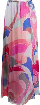 Emilio Pucci Quirimbas print skirt