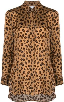 Rosetta Getty Leopard Print Shirt