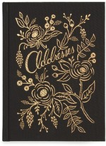 Rifle Paper Co. Raven Address Book - Black
