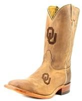 Nocona Men's Oklahoma Branded Men 2e Square Toe Leather Western Boot.