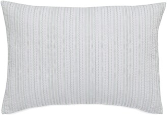 Southern Tide Sandbar Stripe Embroidered Decorative Pillow