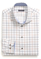 Tommy Hilfiger Tailored Collection Cotton Dobby Check Shirt