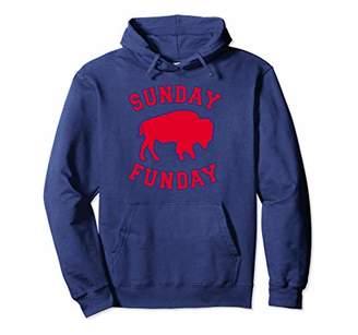 Buffalo David Bitton Sunday Funday 716 New York BFLO WNY Football Pullover Hoodie