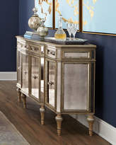Horchow Dresden Four-Door Mirrored Buffet