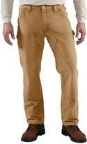 Carhartt Weathered Duck Dungaree Jeans - Double Front (For Men)