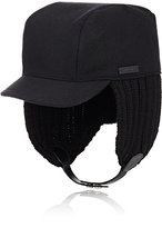 Prada Men's Trapper Hat-BLACK