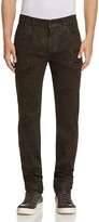 Hudson Broderick Slouchy Slim Fit Jeans in Militant
