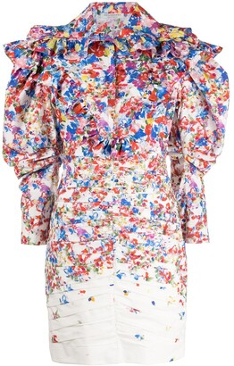 Philosophy di Lorenzo Serafini All-Over Print Dress