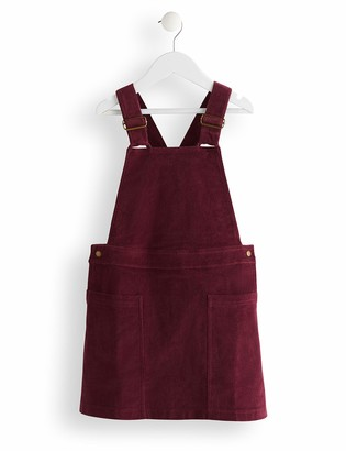 Amazon Brand - RED WAGON Girl's Pinafore Dress