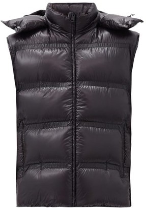 5 Moncler Craig Green - Harold Hooded Down Quilted Gilet - Black