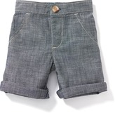 Old Navy Cuffed Chambray Shorts for Baby