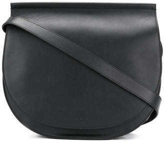 Givenchy Infinity Mini Saddle Shoulder Chain-Trimmed Black
