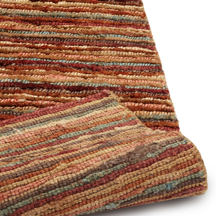 Thumbnail for your product : John Lewis & Partners Rustic Jute Stripe Rug, L240 x W170cm