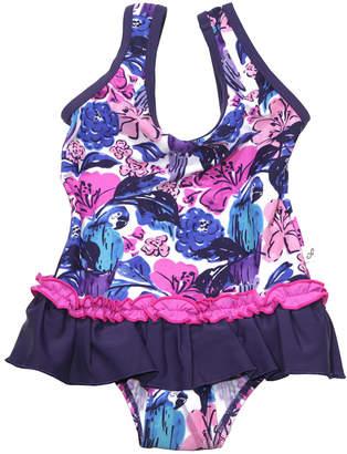 Floatimini Birds Of Paradise Scoop Back Skirt One-Piece