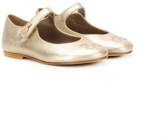 Bonpoint Metallic Ballerina Shoes