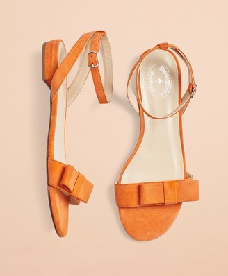 Brooks Brothers Suede Sandals