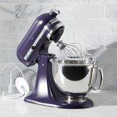 Crate & Barrel KitchenAid ® Artisan Black Violet Stand Mixer