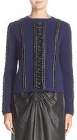 Altuzarra Women's Deals Lace Detail Wool Sweater