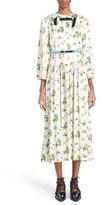 Toga Women's Floral Print Midi Length Dress