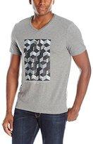Calvin Klein Men's Abstract Texture Short Sleeve T-Shirt
