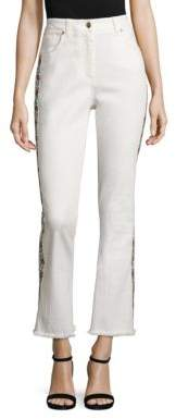 Etro Embroidered Flared Jeans