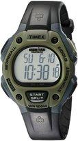 Timex Men's Ironman T5K520 Black Resin Quartz Watch with Digital Dial