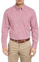 Cutter & Buck Men's Big & Tall Cimarron Regular Fit Check Sport Shirt