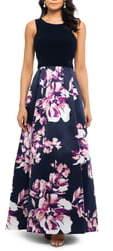 Xscape Evenings Floral Evening Dress