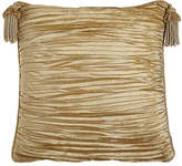 Austin Horn Classics Antoinette Pleated Silk European Sham with Tassels