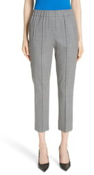 Michael Kors Pintuck Wool Blend Trousers
